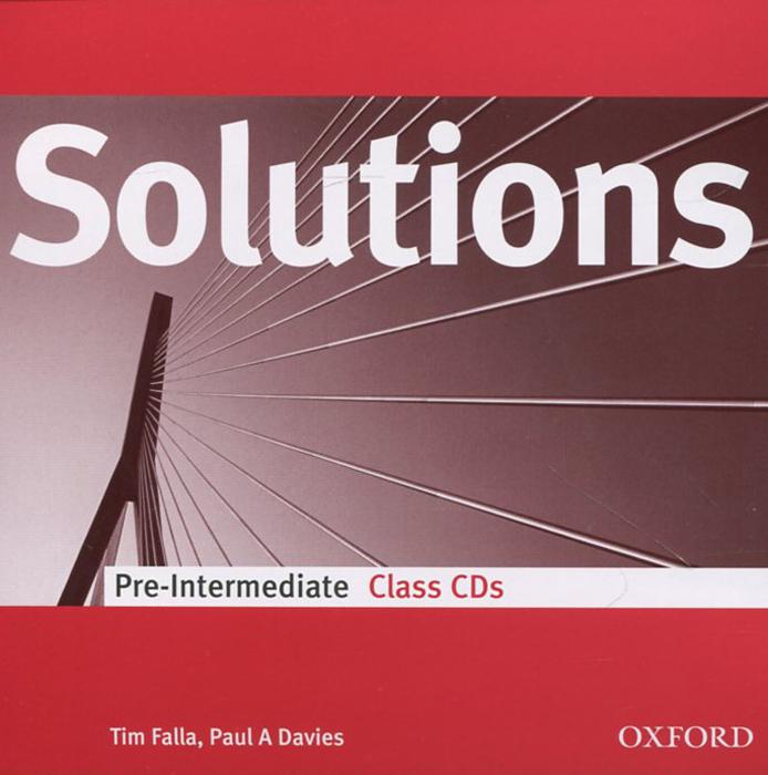 Solutions: Pre-intermediate: Class Audio CDs (аудиокурс на 2 CD)