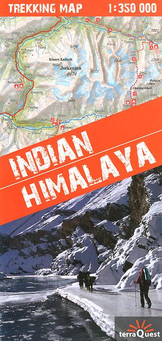 Indian: Himalaya: Trekking Map