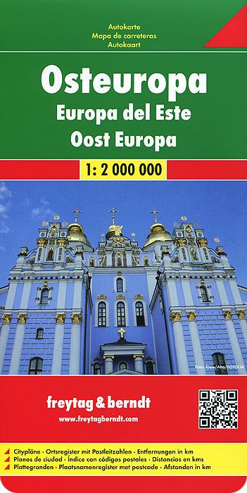 Osteuropa: Autokarte