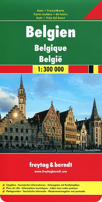 Belgium: Autokarte.