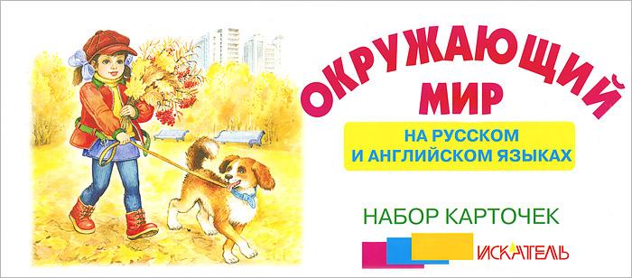 Окружающий мир. На русском и английском языках. Набор из 29 карточек