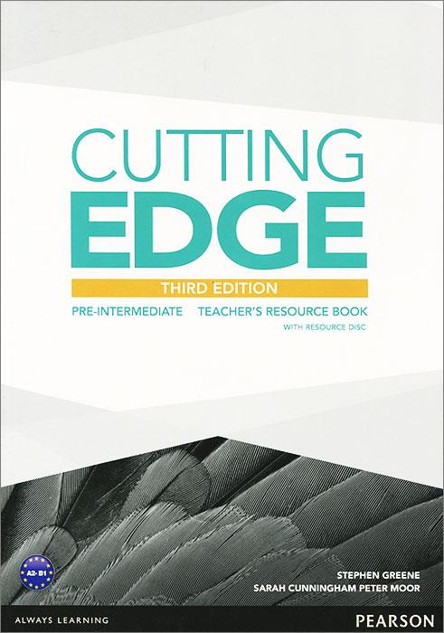 Cutting Edge: Pre-Intermediate: Teacher's Book (+ CD-ROM)