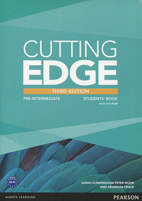 Cutting Edge: Pre-Intermediate: Student's Book (+ DVD-ROM)