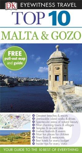 DK Eyewitness Top 10 Travel Guide: Malta & Gozo ( 9781405360913 )