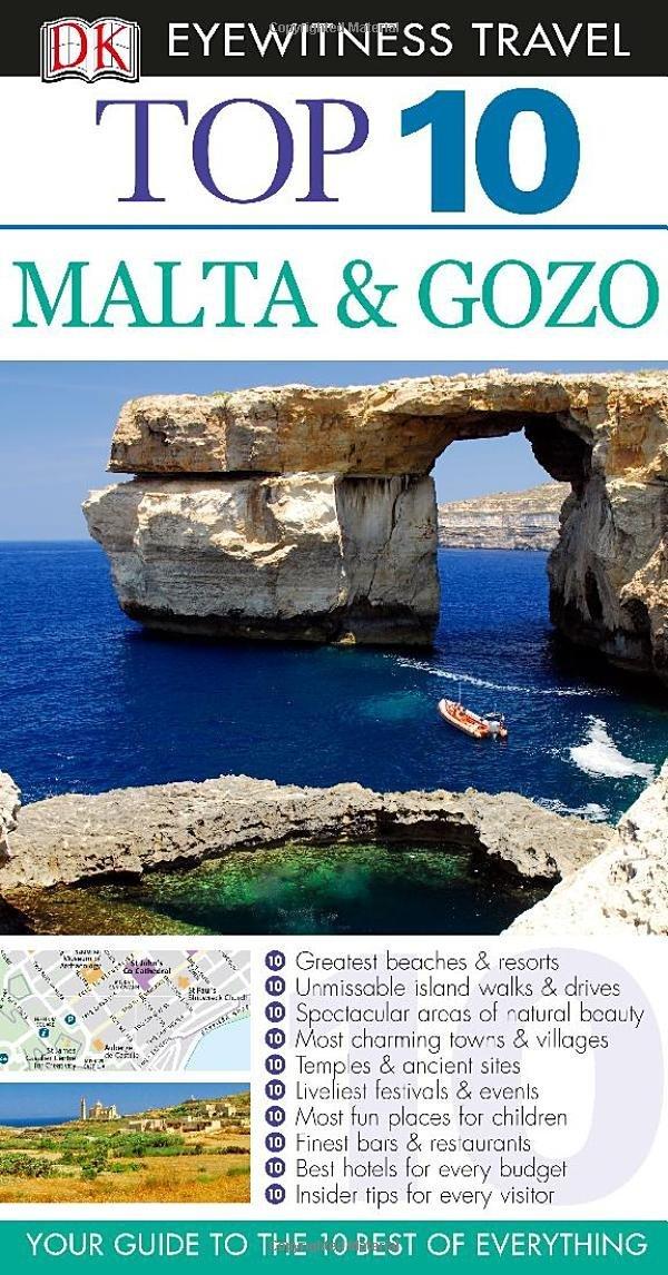 Malta & Gozo: Top 10 (+ карта) ( 978-1-4093-7352-0 )