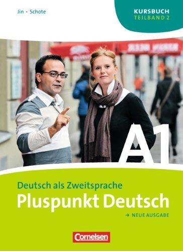 Kursbuch + Arbeitsbuch, m. Audio-CD (Lektion 8-14), 2 Tle.