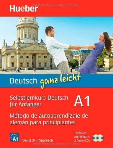Metodo de autoaprendizaje de aleman para principiantes, Textbuch, Arbeitsbuch u. 2 Audio-CDs