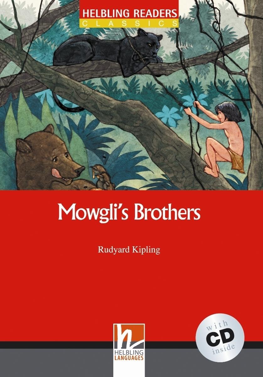 Mowgli`s Brothers + CD (Level 2) by Rudyard Kipling