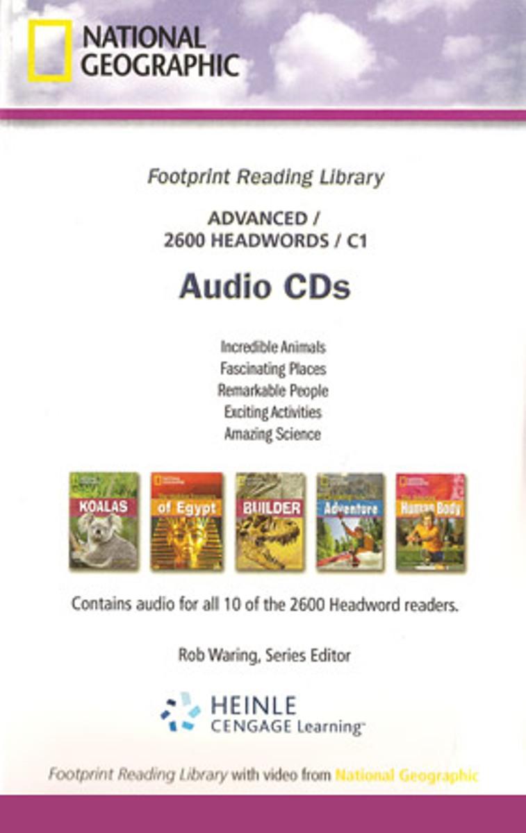 Footprint Reading Library 2600 - Audio CD(x1)