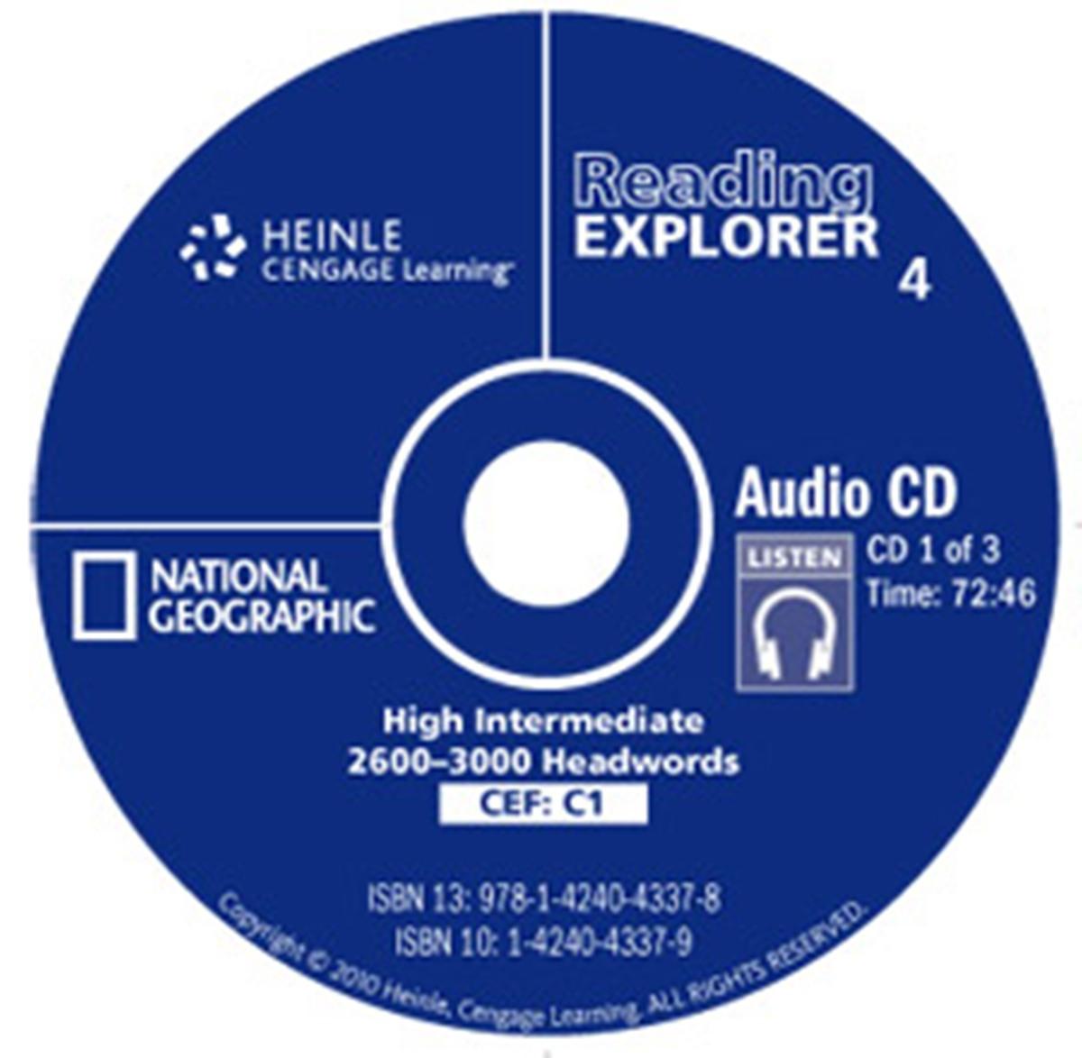Reading Explorer 4 Audio CD(x1)