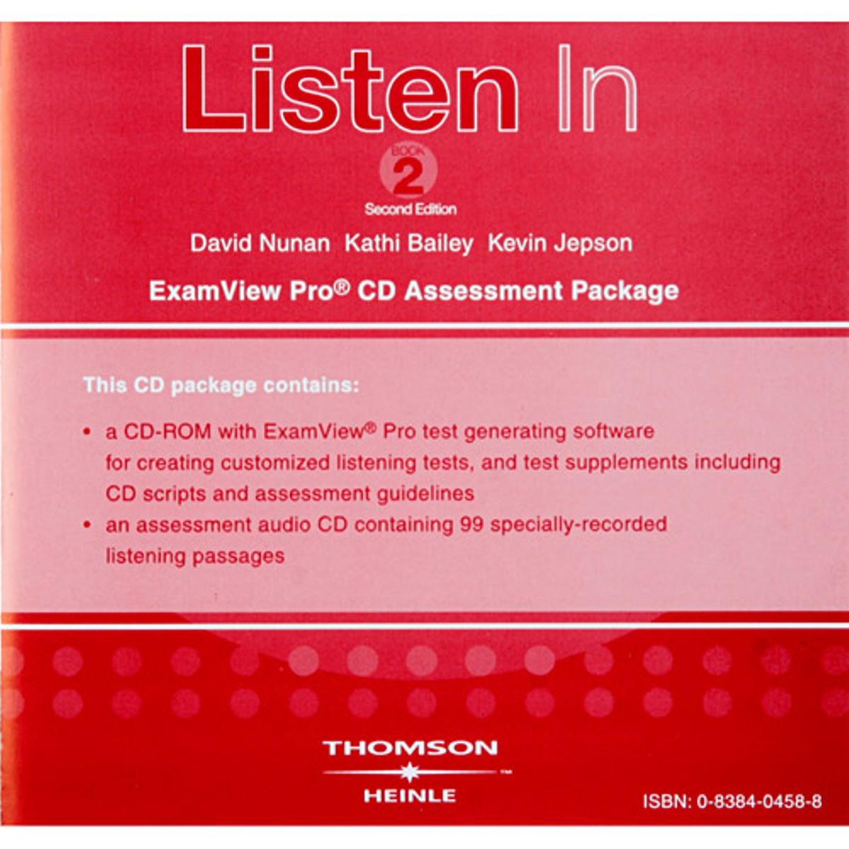 Listen In Book 2 ExamView CD-ROM(x1)