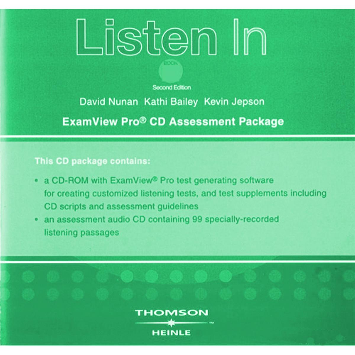 Listen In Book 3 ExamView CD-ROM(x1)