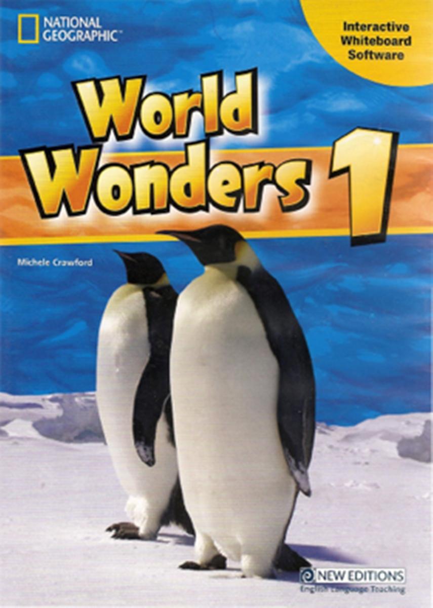 World Wonders 1 Interactive Whiteboard Software CD-ROM(x1)
