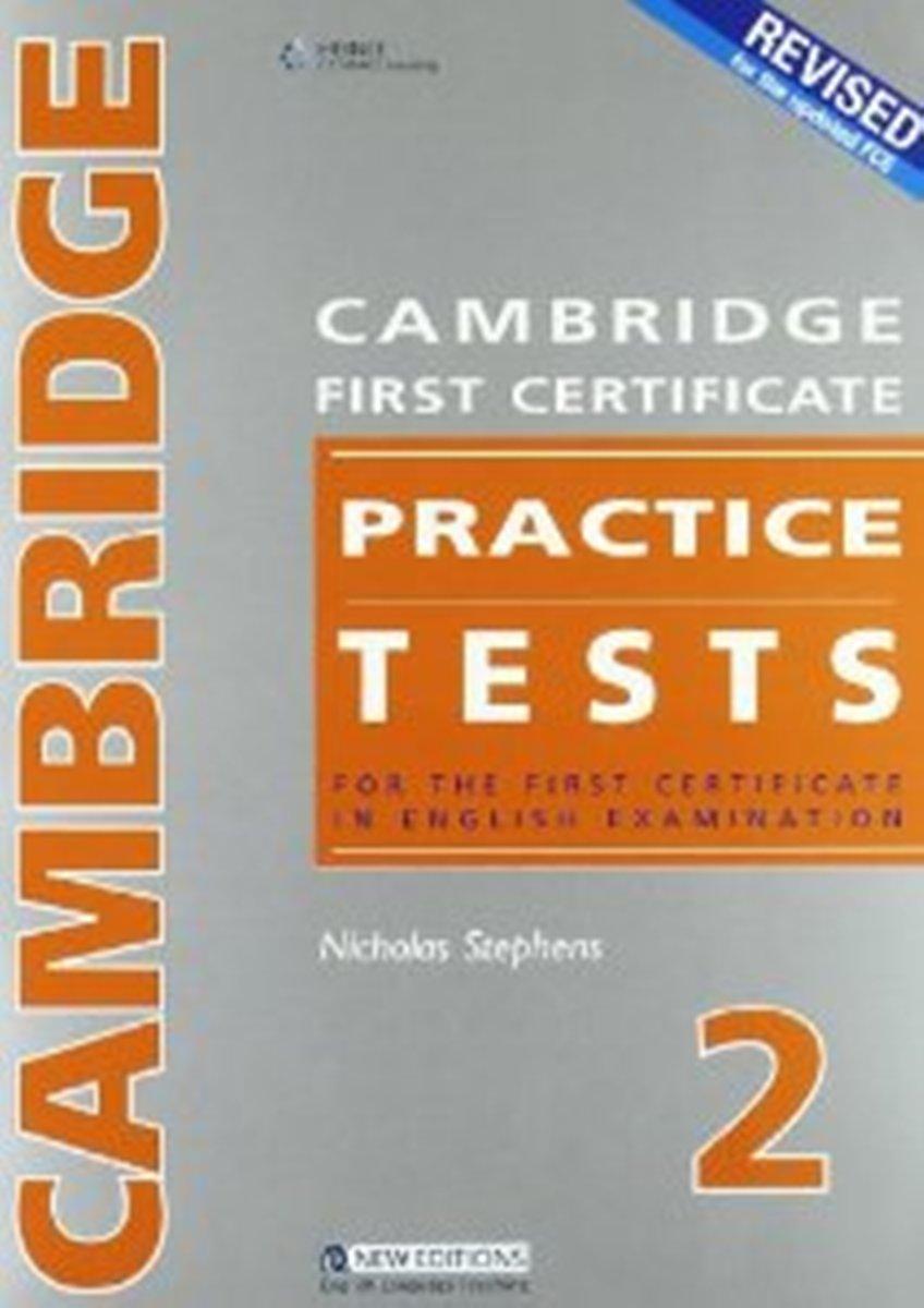 Cambridge FCE Prac Tests 2 Student's Book