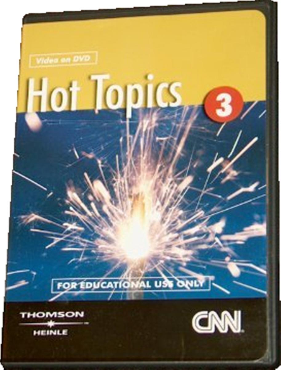 Hot Topics 3 CNN DVD(x1)