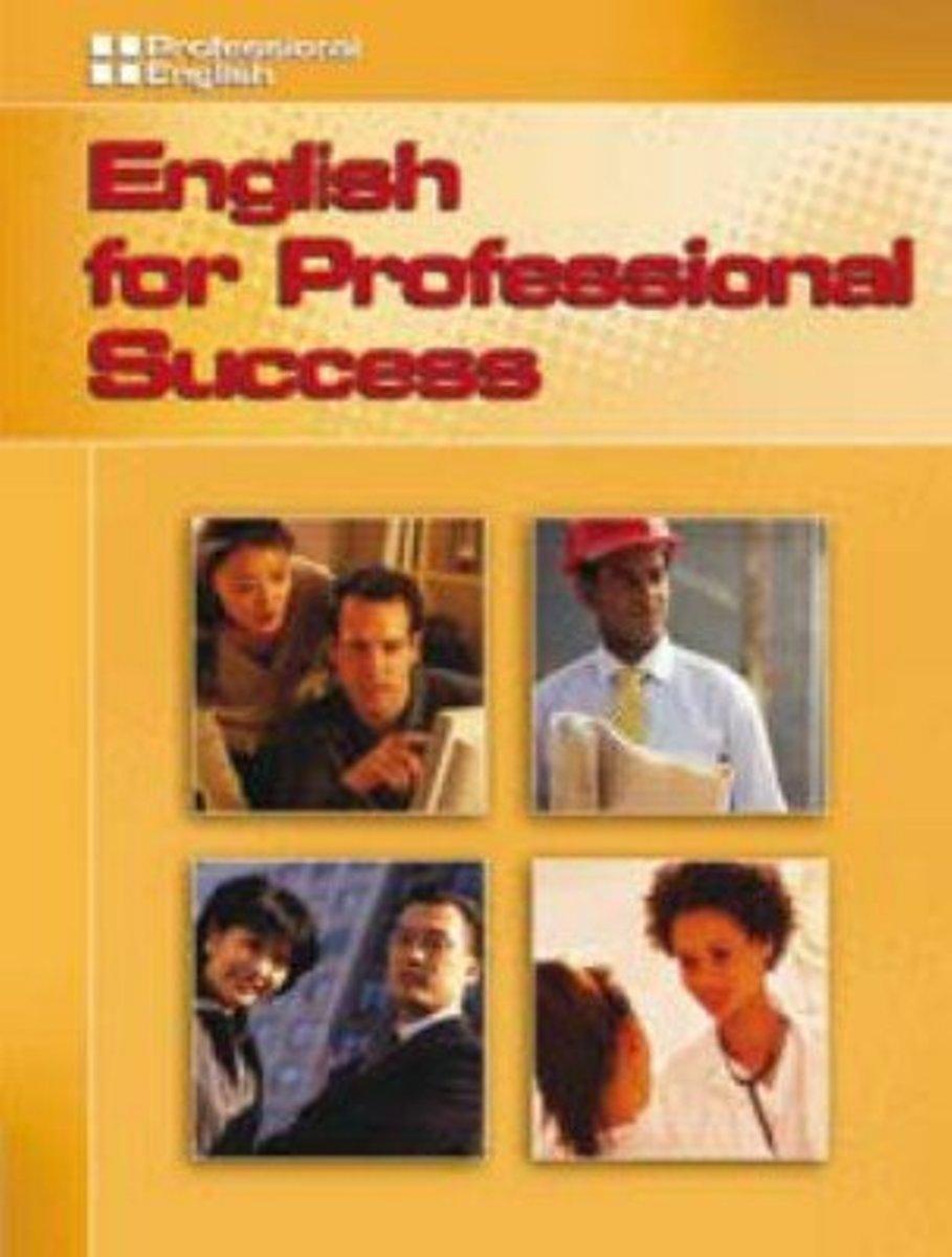 Professional English: English For Prof Success Audio CD(x1)
