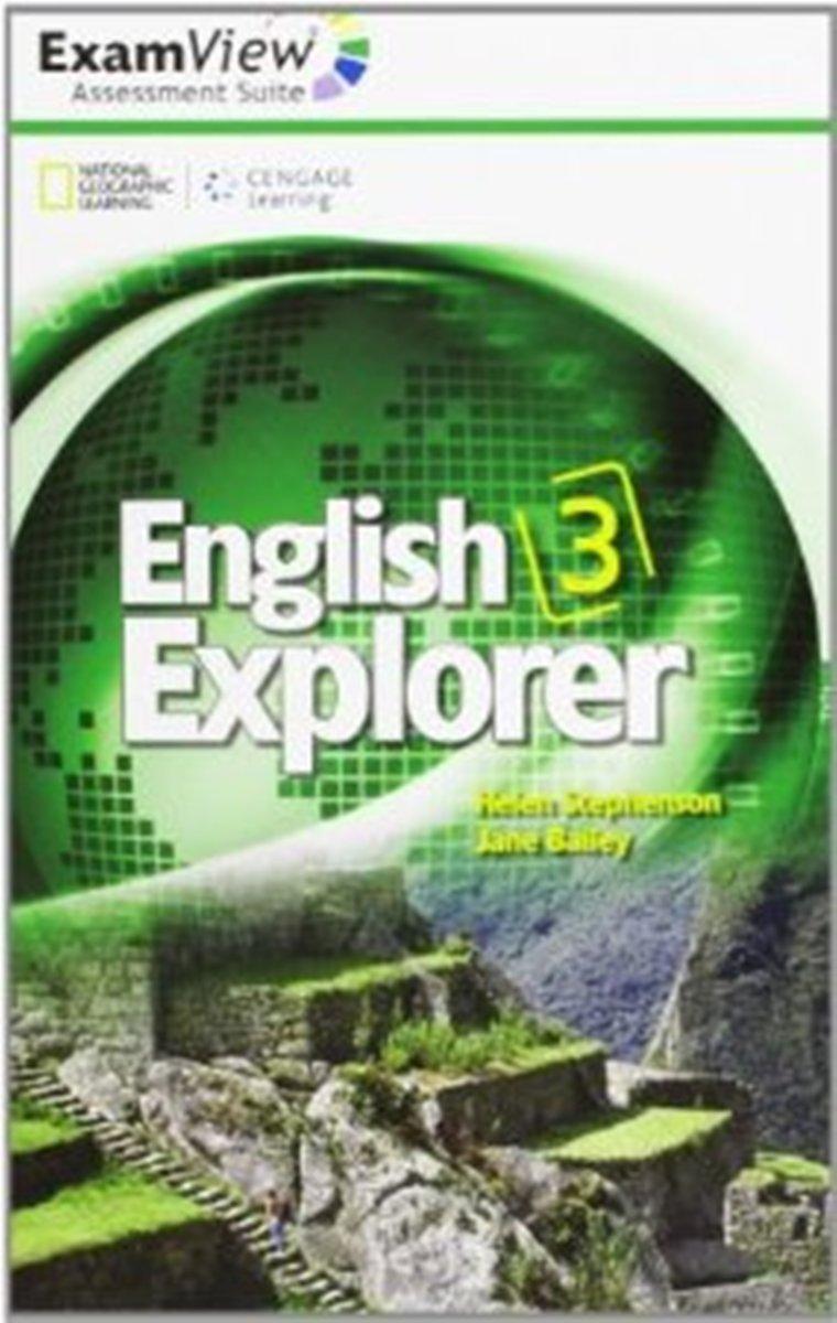 English Explorer 3 ExamView CD-ROM(x1)