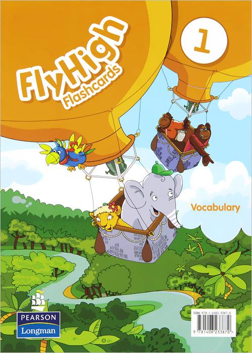 Fly High 1: Vocabulary: Flashcards (набор из 72 карточек)