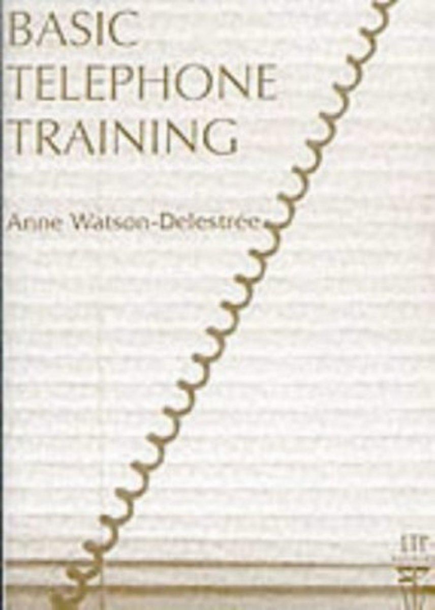 Basic Telephone Training Audio Cassette(x1)