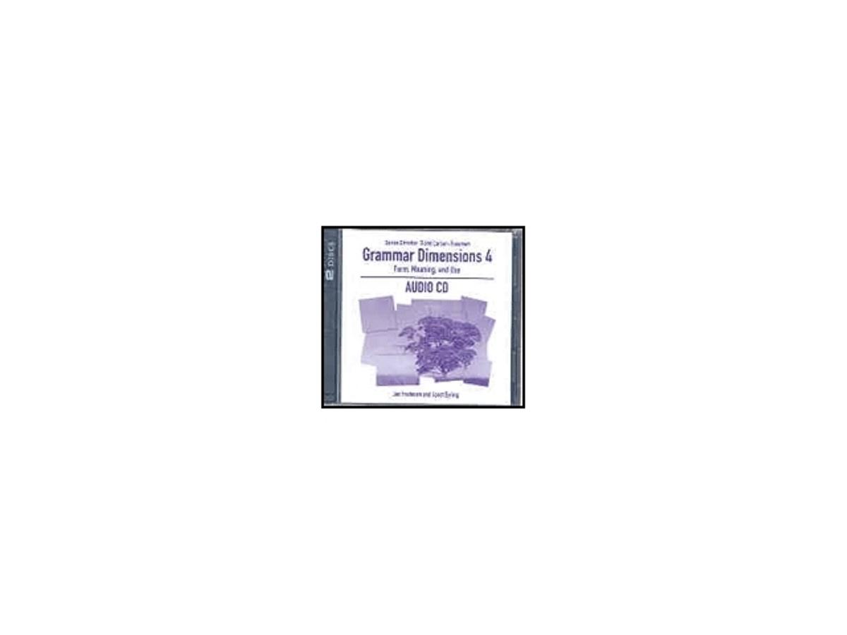 Grammar Dimensions 4 Audio CD(x1)