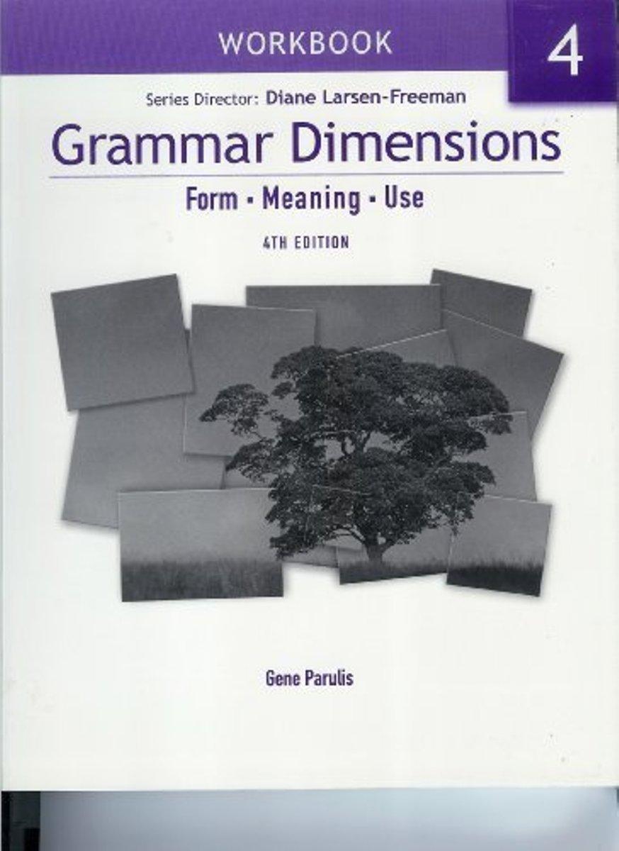 Grammar Dimensions 4 Workbook