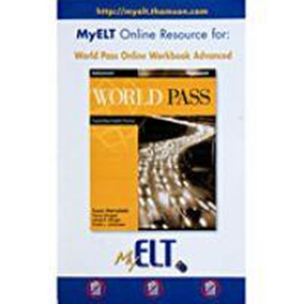 World Pass Advanced Online Workbook