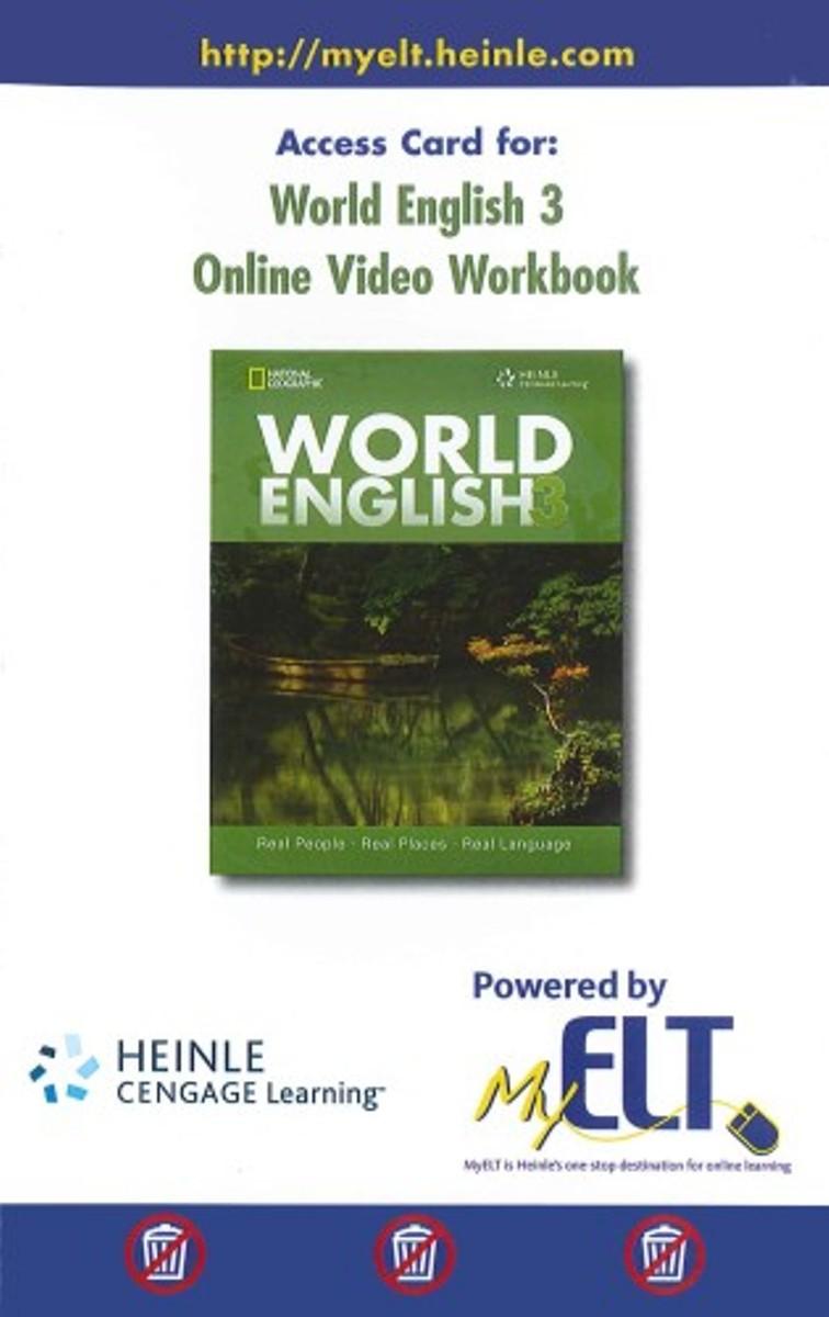 World English 3 Online Video Workbook