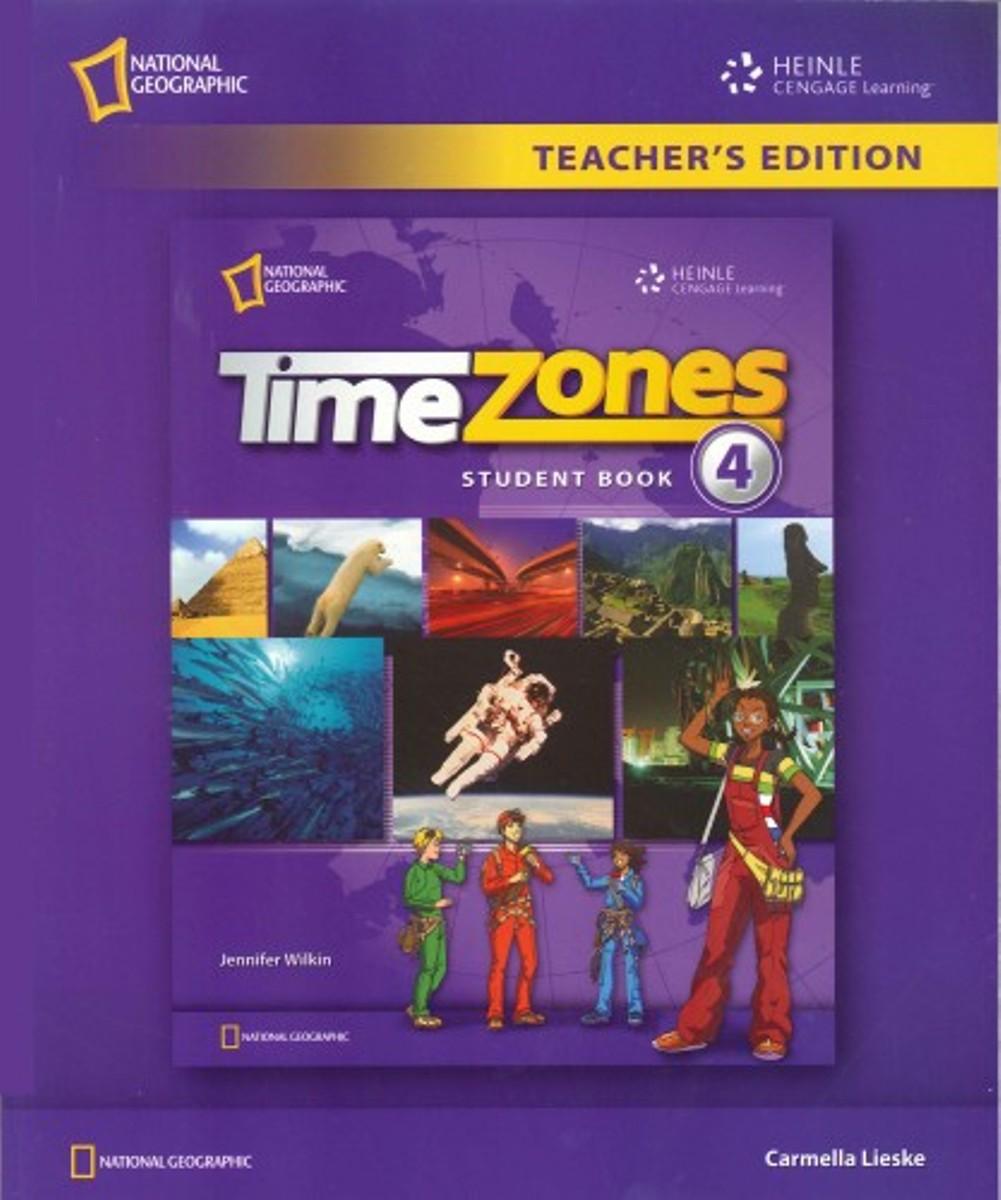 Time Zones 4 Teacher's Book