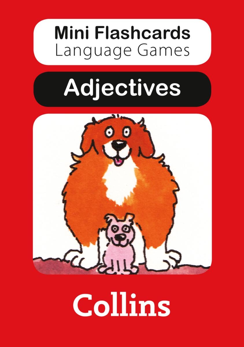 Adjectives (набор из 40 карточек)