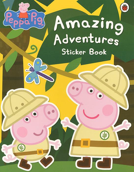 Peppa Pig: Amazing Adventures. Sticker Book