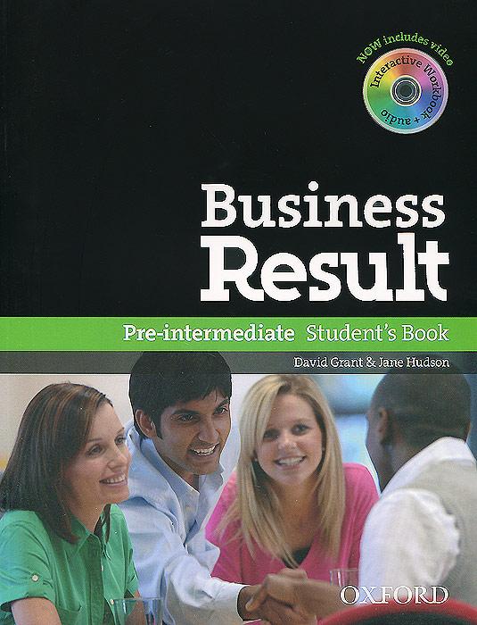 Business Result: Pre-intermediate Student's Book (+ DVD-ROM)