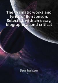 biography of ben jonson essay