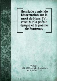 Dissertation Sur La Poesie