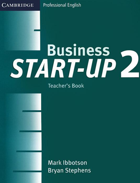 Business Start-up 2: Teacher's Book