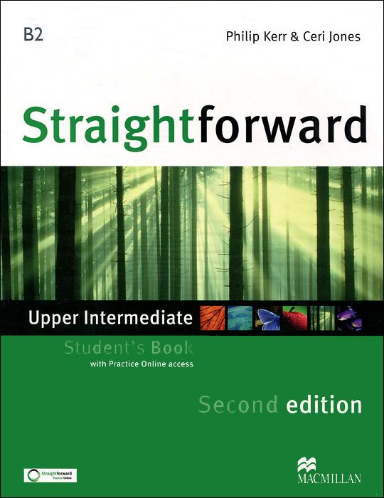 Straightforward: Upper Intermediate B2: Student's Book (+ Practice Online access)