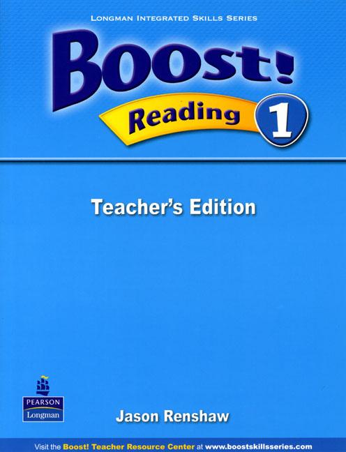 Boost! Level 1 Reading Teacher�s book