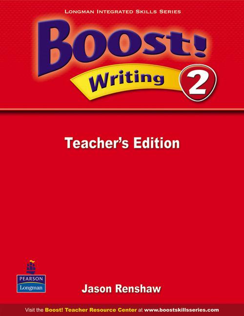 Boost! Level 2 Writing Teacher�s book