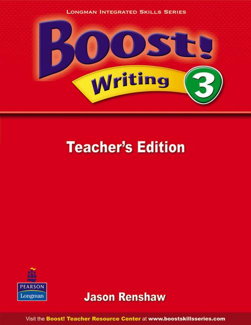Boost! Level 3 Writing Teacher's book