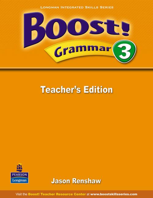 Boost! Level 3 Grammar Teacher�s book