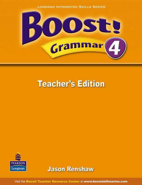 Boost! Level 4 Grammar Teacher's book