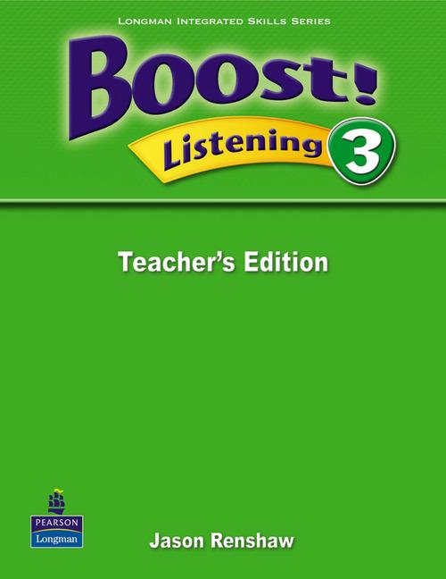 Boost! Level 3 Listening Teacher's book