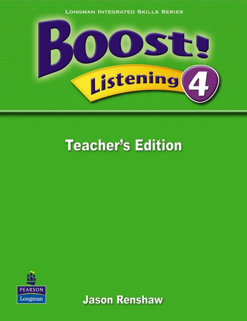 Boost! Level 4 Listening Teacher's book