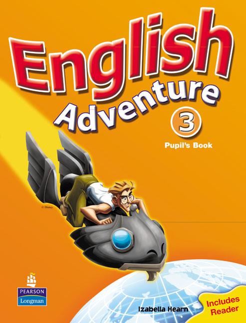 English Adventure: Level 3: Pupil's Book: Reader