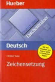 Deutsch Uben, Taschentrainer, Zeichensetzung