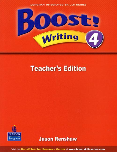 Boost! Level 4 Writing Teacher�s book