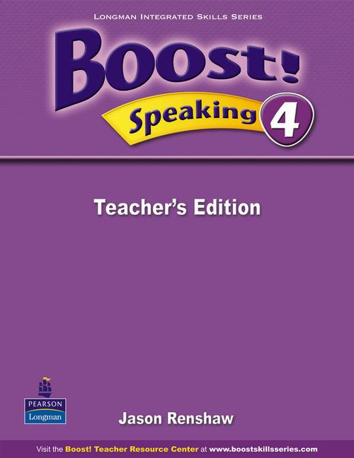 Boost! Level 4 Speaking Teacher�s book