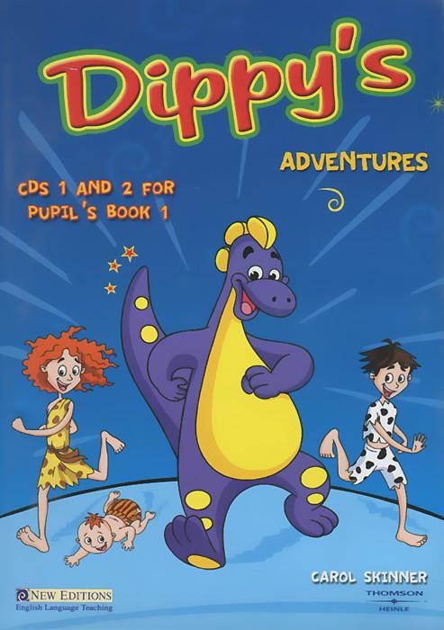 Dippy's Adventures: Pupil's Book 1 (аудиокурс на 2 CD)