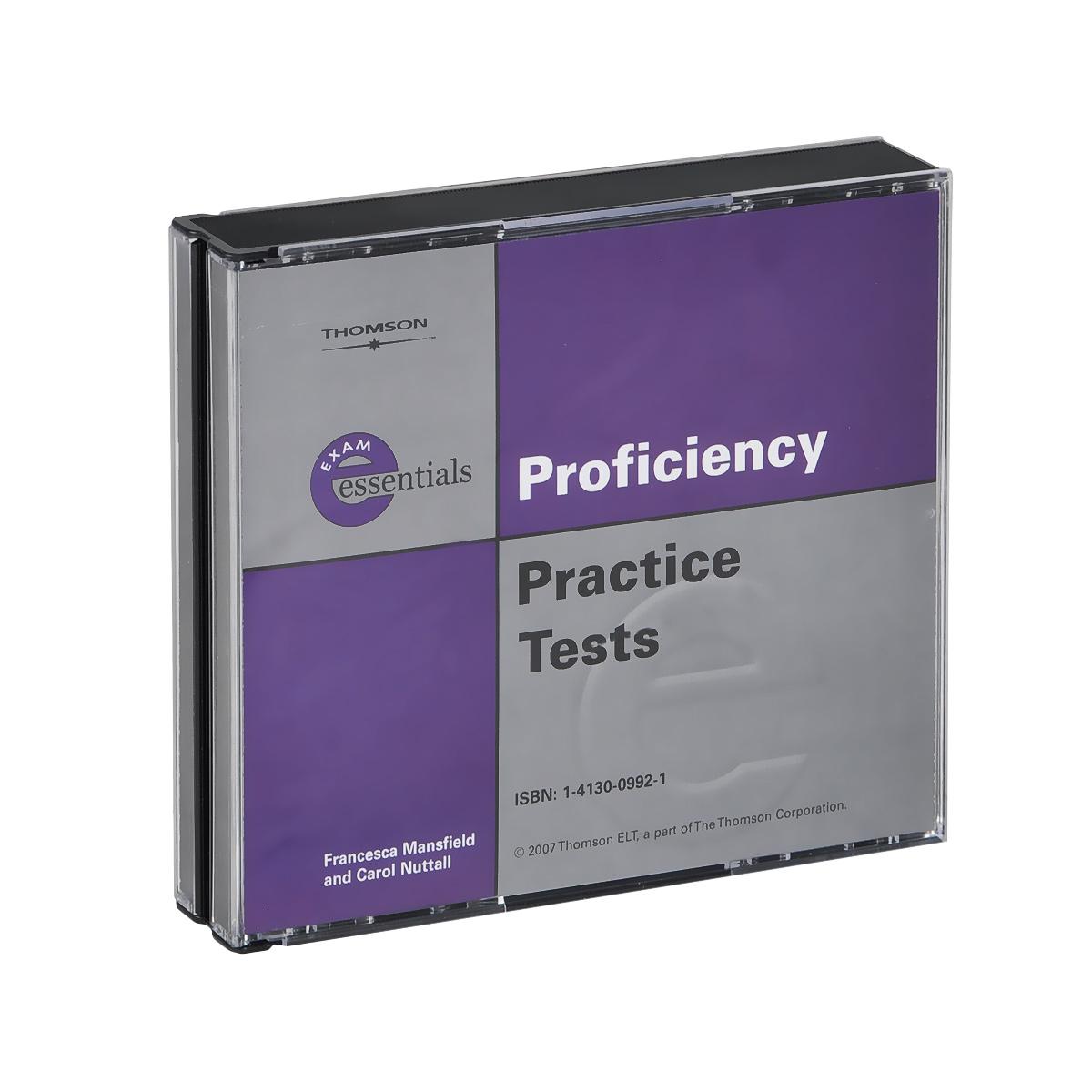 Exam Essentials: Proficiency Practice Tests (аудиокнига на 3 CD)