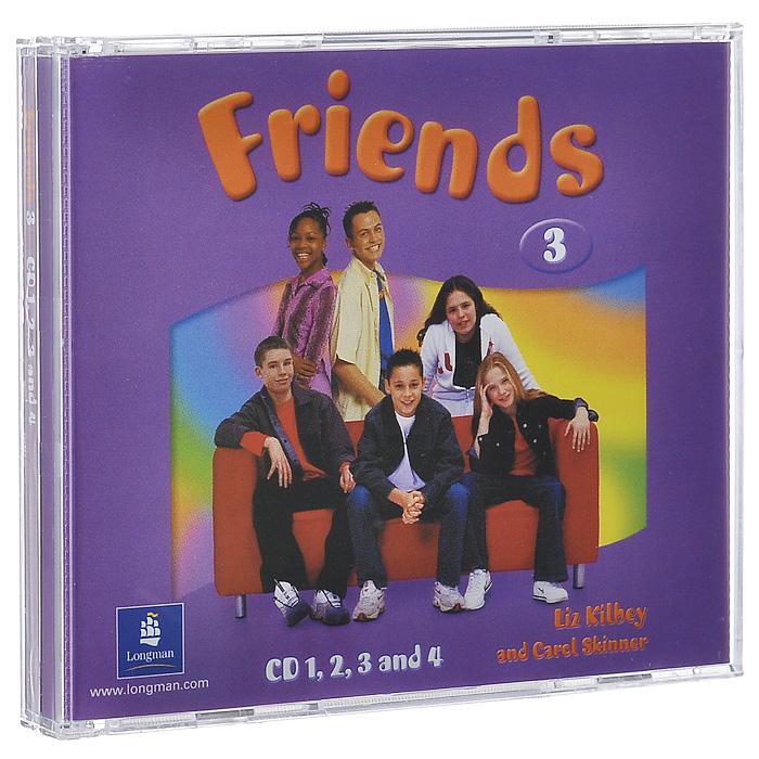 Friends 3 (аудиокурс на 4 CD)