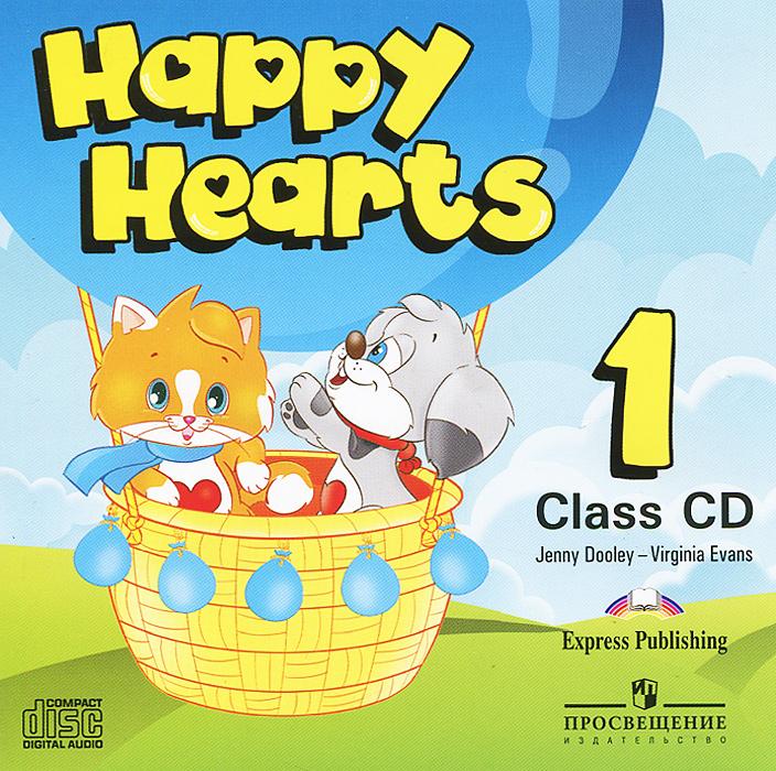 Happy Hearts 1: Class CD (аудиокурс CD)